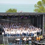 Chorale du Collège en mai 2012 à la Citadelle
