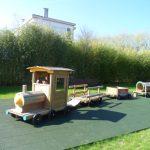 Jeux pour enfants-Petit train en bois