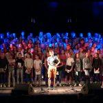 Répétitions de la Chorale du Collège en juin 2017 à la salle de spectacles de l'Arsenal à la Citadelle