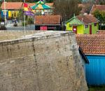 Fort Pâté et les cabanes d'artisans