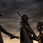 Sculptures sur l'esplanade de la Citadelle