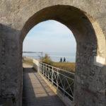 Porte de la plage du Château d'Oléron
