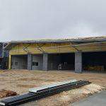 Construction du nouveau centre de secours en 2016