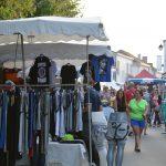 La marché sur La Place de la République