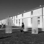 Installation de POTAJIX de Patrick Martinez dans le cadre de l'exposition AMERS, biennale Art & Nature sur l'Ile d'Oléron