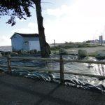 Futurs espaces végétalisés aux abords de l'aire de carénage