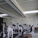 Appareils de musculation dans le nouvel espace consacré