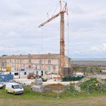 Construction de la salle de spectacles de l'Arsenal - Citadelle, 03 juin 2014