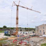 Construction de la salle de spectacles de l'Arsenal, 03 juin 2014