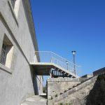 Escalier de la Citadelle côté courtine