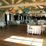 Salle de réception en configuration mariage