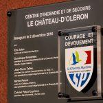 Inauguration le 02 décembre 2016 du Centre de Secours Le Château d'Oléron© SDIS 17 – Dimitri Labarsouque