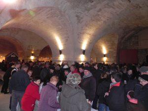 Le 30 décembre 2016 soirée de fin d'année dans le Bastion de la Brèche à la Citadelle