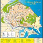 Plan du Château d'Oléron
