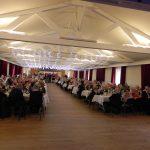 Salle de réception de l'Arsenal avant le repas des aînés 2017