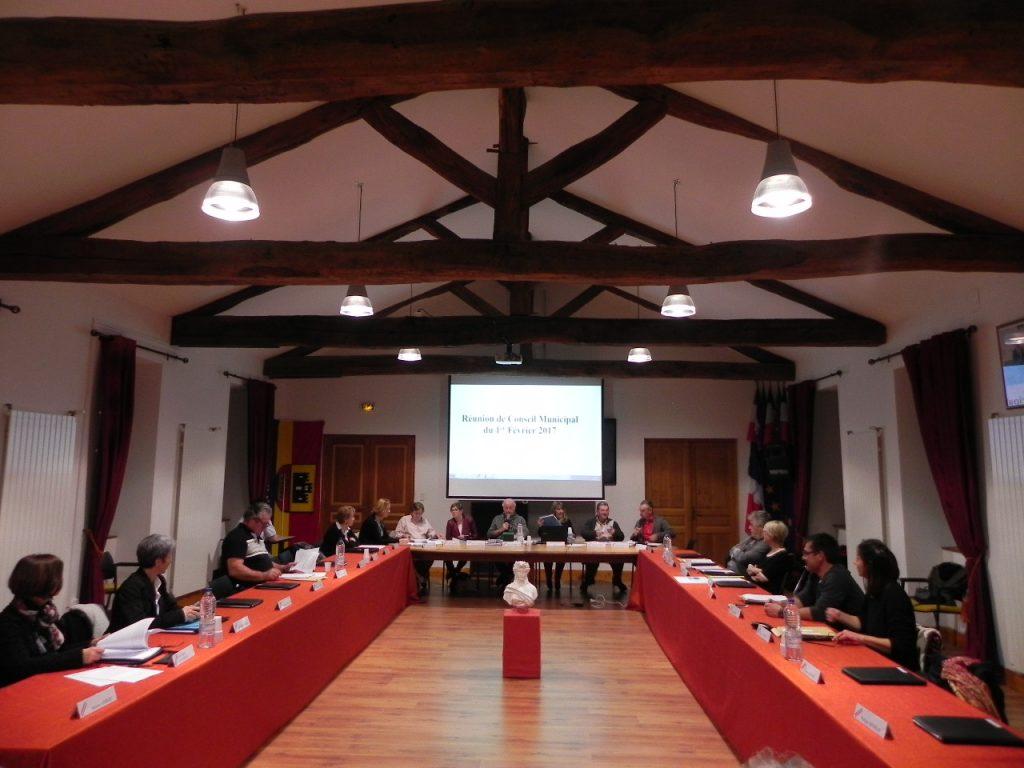 Conseil Municipal du 1er février 2017