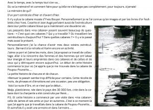Histoires des cabanes du Château d'Oléron