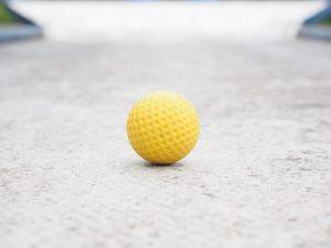 Balle de minigolf