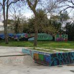 Skate park du Château d'Oléron et son mur de graffs
