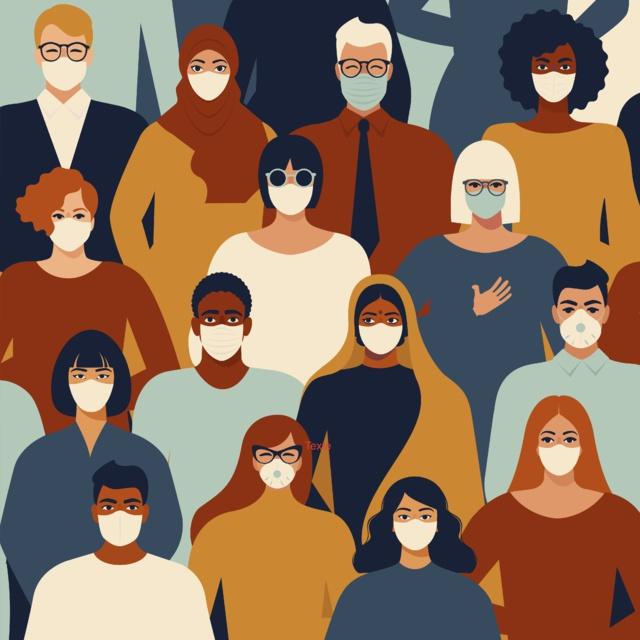 Masques de protection Crédit Shutterstock
