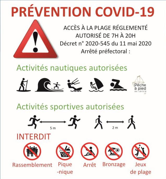 Prévention-plage-covid-19