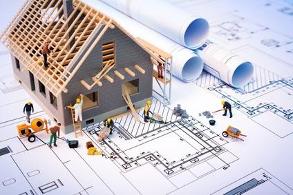 Maison en construction - Projet
