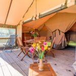 Lodge toilé Camping municipal Les Remparts
